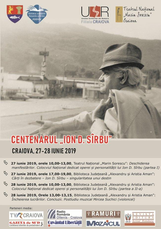 Foto Centenarul Ion D. Sîrbu