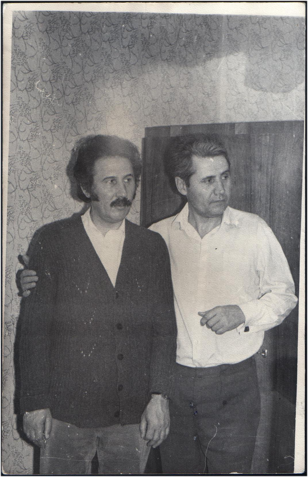 Omagierea Profesorului George Sorescu și lansarea unei cărți de conversații cu și despre Marin Sorescu
