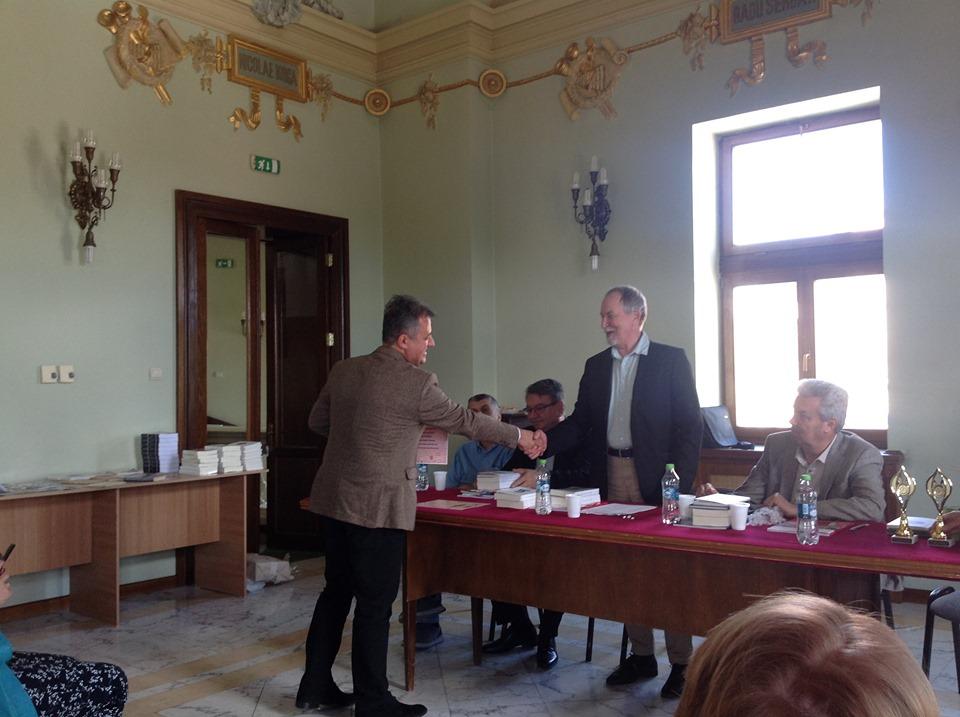 Trofeul Virgil Carianopol i-a fost decernat scriitorului craiovean Mihai Firică